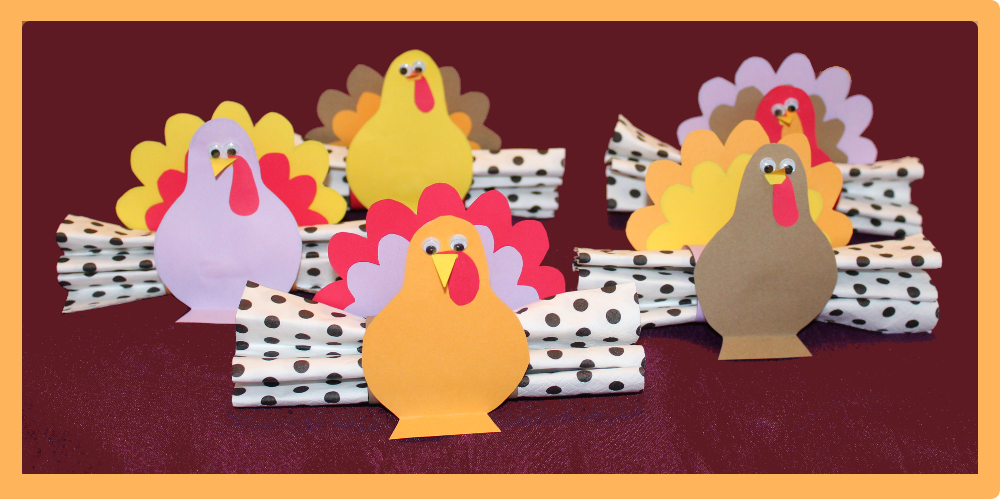 Turkey Tube - Napkin Holder