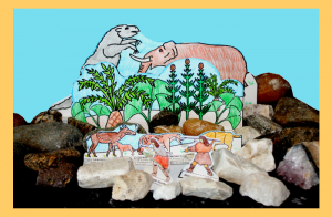 Stone Age Diorama Craft