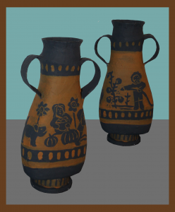 Paper Mache' Greek Vase Craft