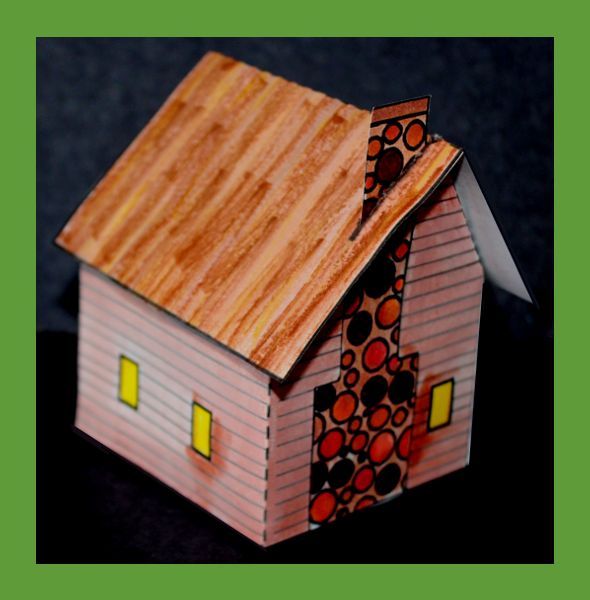 Saltbox house craft