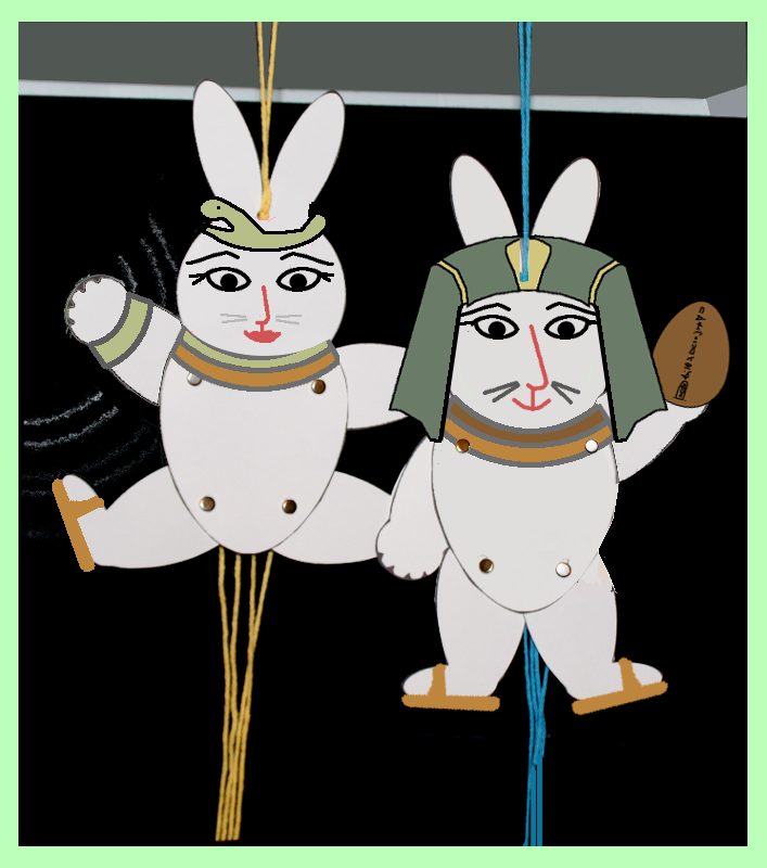 Rabbit Marionettes