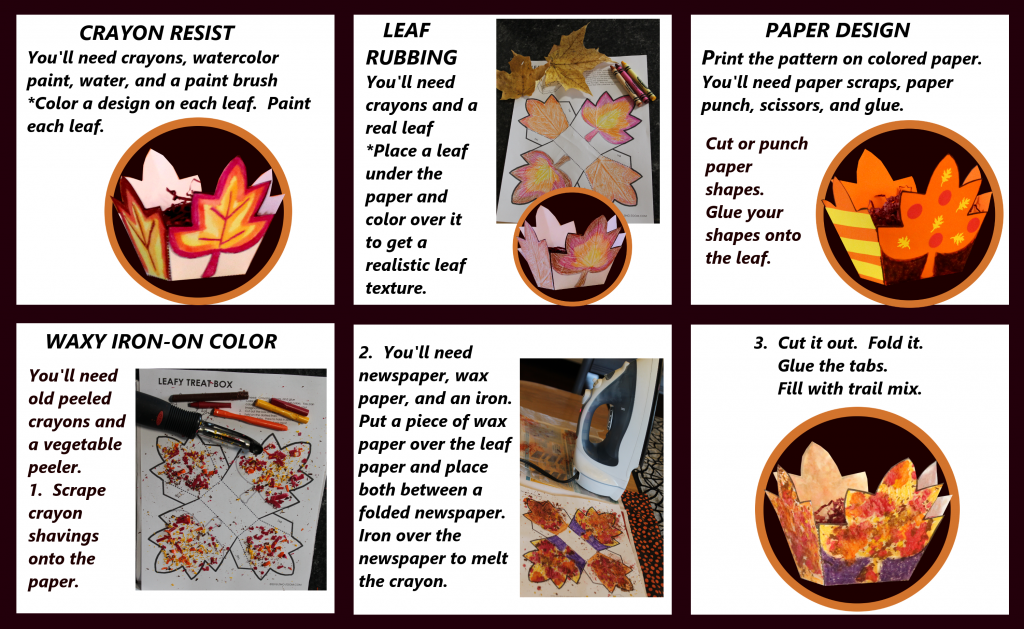 Leaf Box Instructions