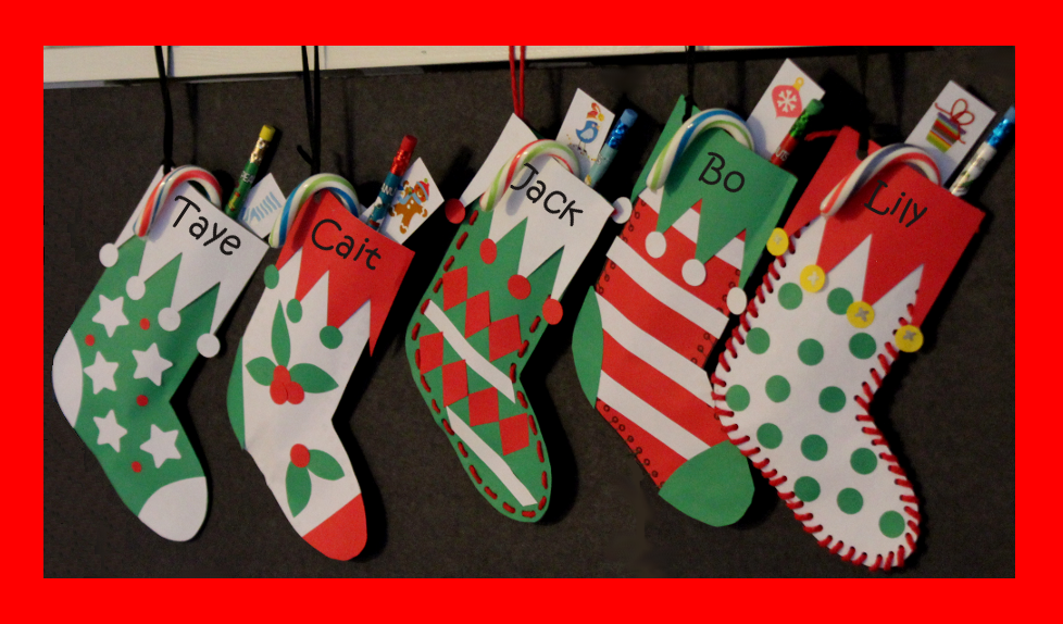 Stitch a Stocking Craft