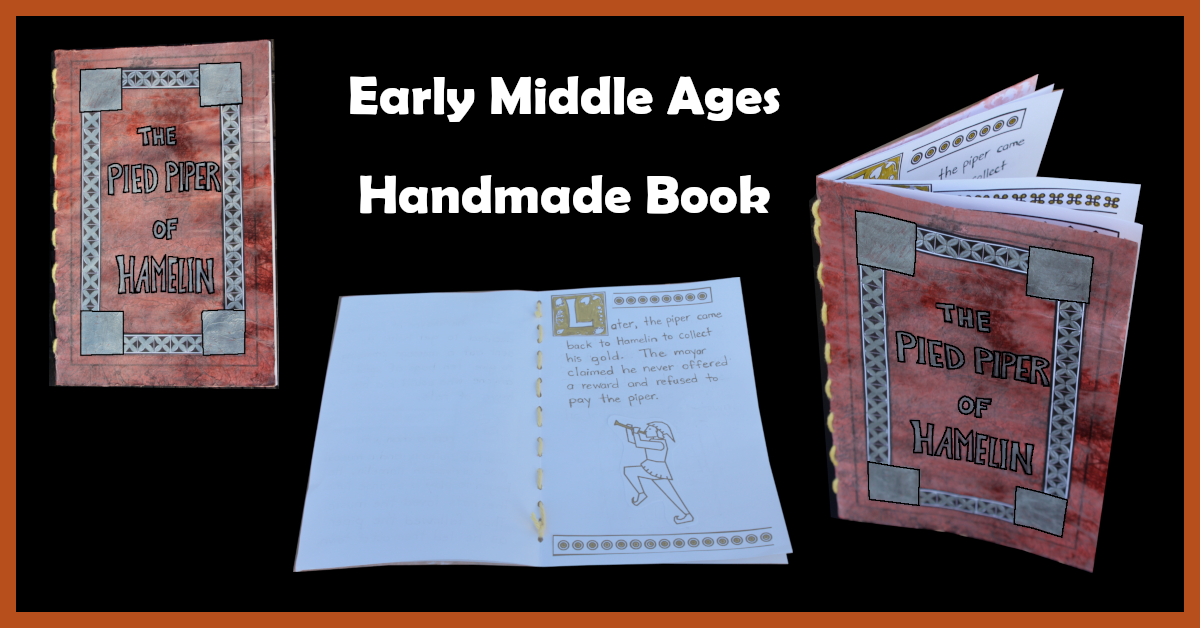 Early Middle Ages Handmade Book Craft